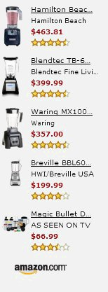 Amazon Top Blenders