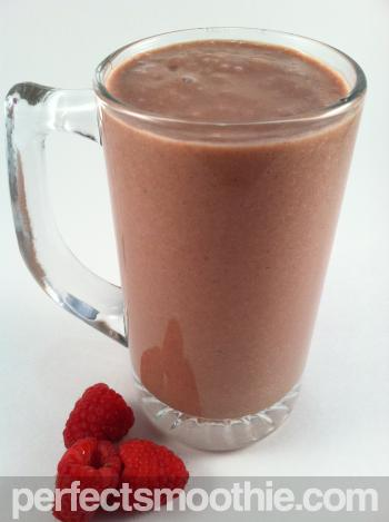 Peanut Butter Cup Raspberry Smoothie Recipe