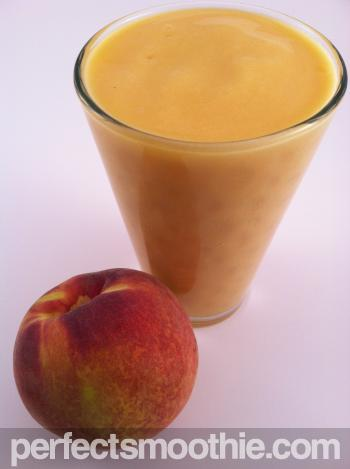 Peach Mango Frozen Smoothie Recipe