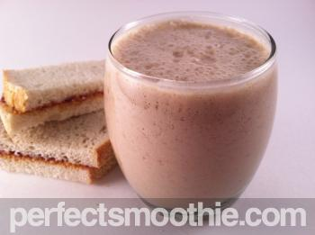 Peanut Butter and Jelly Smoothie Recipe